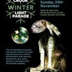 Crook Winter Light Parade – Sunday 25th November